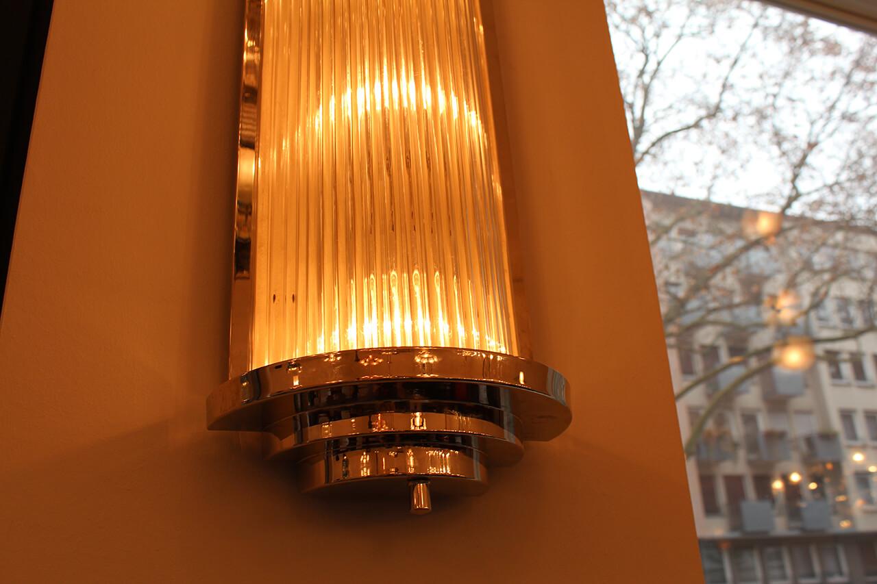 sehr sch nes wandlampenpaar art d co annette stern art d co m bel lampen accessoires in. Black Bedroom Furniture Sets. Home Design Ideas