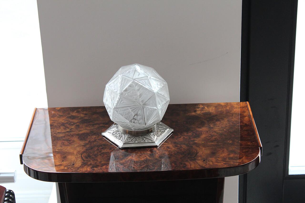 kleine tischlampe art d co annette stern art d co. Black Bedroom Furniture Sets. Home Design Ideas