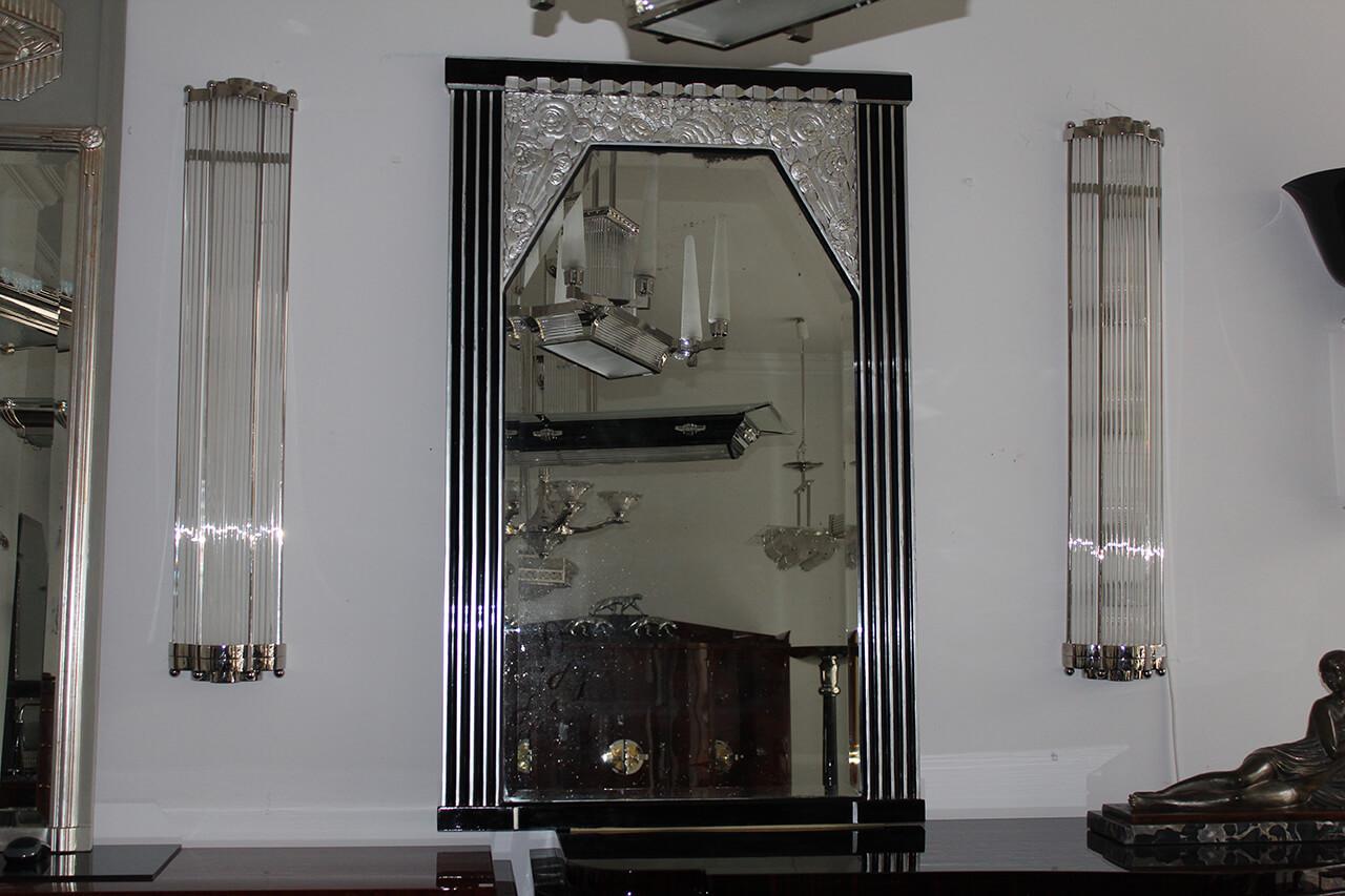 Art Deco Spiegel : Großer eleganter spiegel art déco annette stern art déco möbel