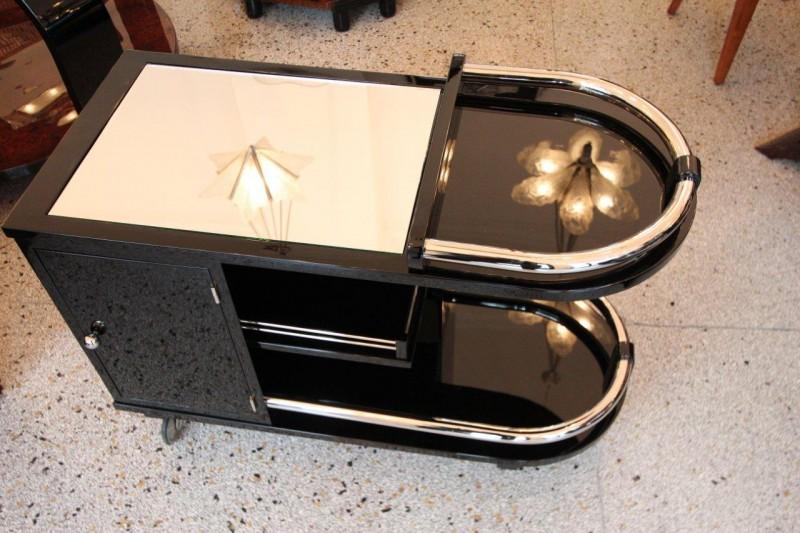 stylische rollbar art d co annette stern art d co. Black Bedroom Furniture Sets. Home Design Ideas