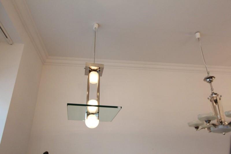 modernistische deckenlampe seltenes modell art d co. Black Bedroom Furniture Sets. Home Design Ideas