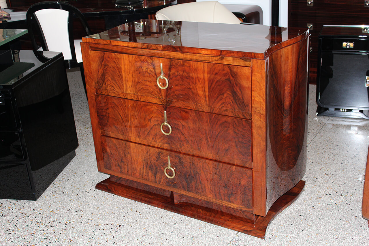 Dreischubige Kommode Art Deco Annette Stern Art Deco Mobel