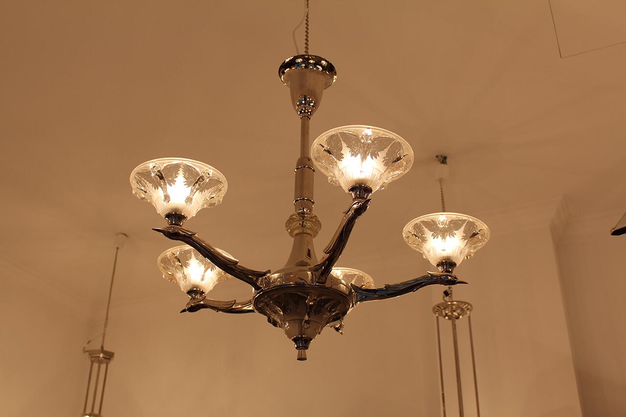 Extravagante Deckenlampe | Art Déco Annette Stern | Art Déco ...