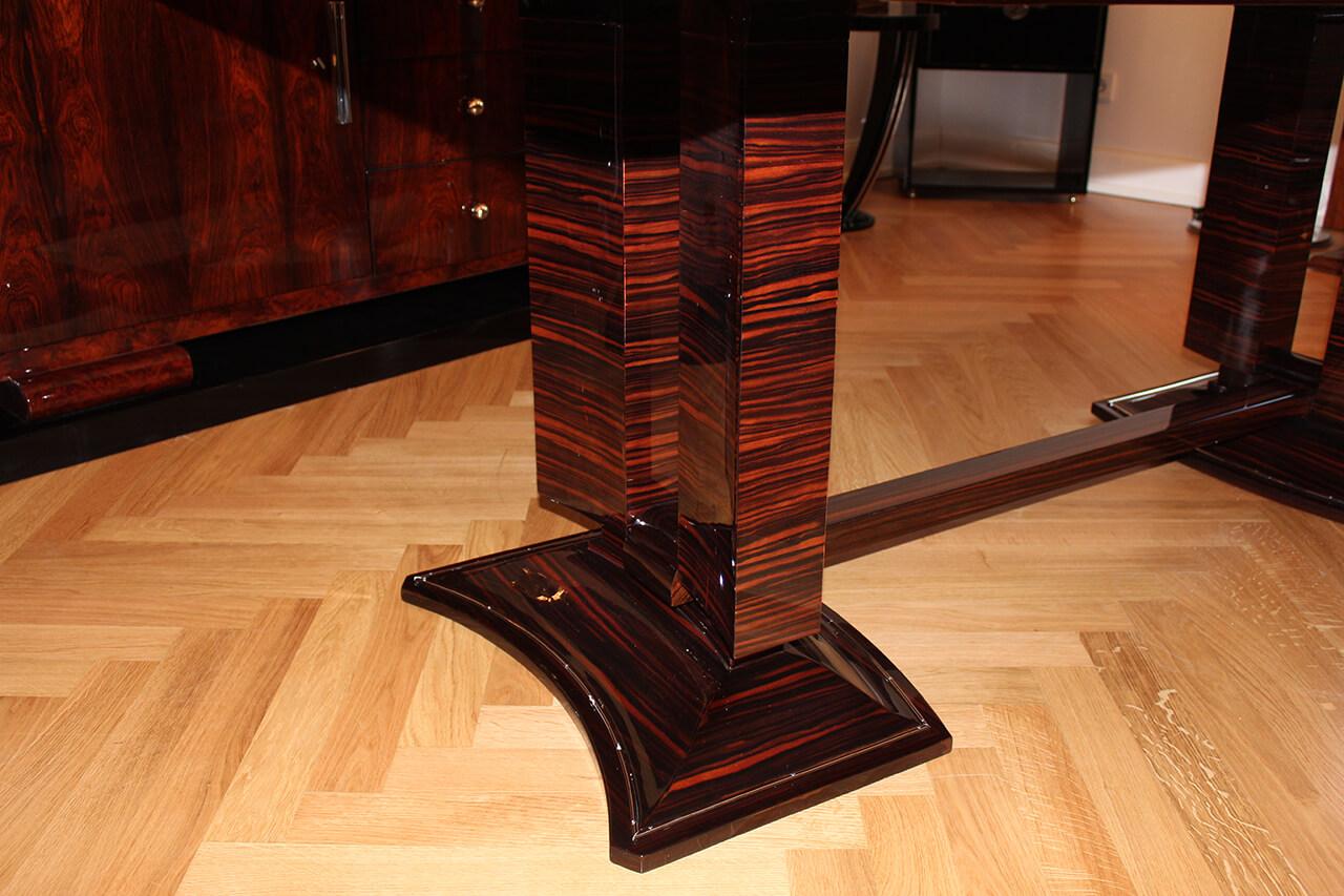 Grosser Eleganter Esstisch Art Deco Annette Stern Art Deco Mobel