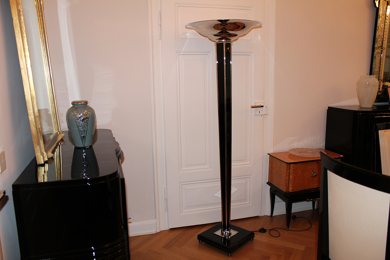 stehlampe art d co annette stern art d co m bel lampen accessoires in mannheim. Black Bedroom Furniture Sets. Home Design Ideas