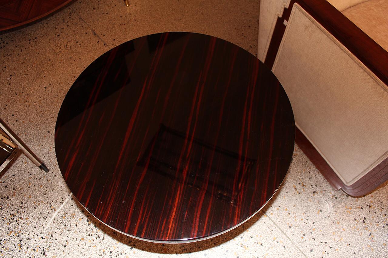 Kleiner Runder Beistelltisch Art Deco Annette Stern Art Deco