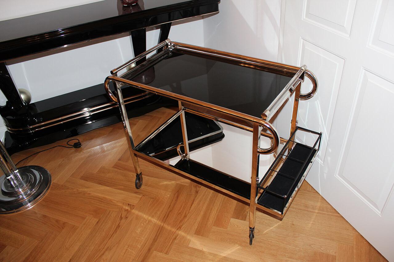 barwagen art d co annette stern art d co m bel lampen. Black Bedroom Furniture Sets. Home Design Ideas