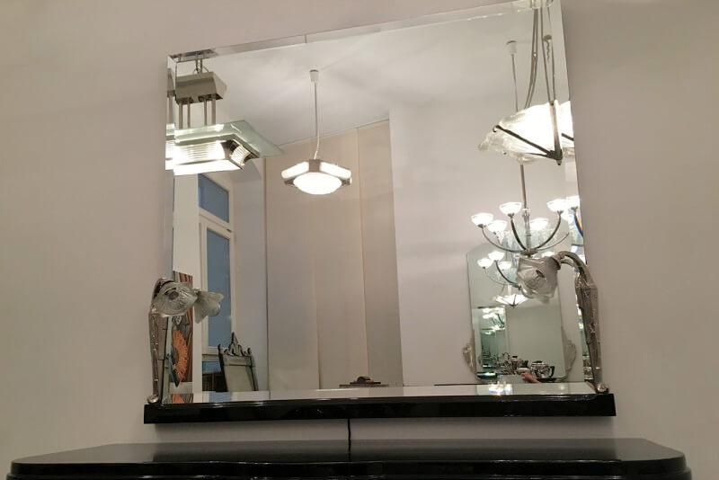 spiegel neu mit facettenschliff art d co annette stern art d co m bel lampen. Black Bedroom Furniture Sets. Home Design Ideas